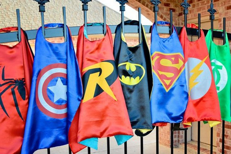 Superhero Capes Amp Matching Mask