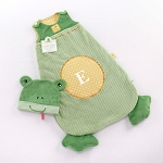 Sleepy Baby Frog Snuggle Sack and Cap