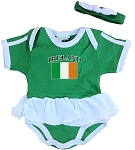 Ireland Ruffled Onesie