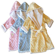 Kids Minky Robes