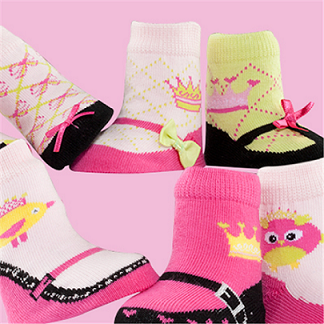 Stylish Royal Chick Socks
