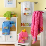 Bambini ABC Towel Collection