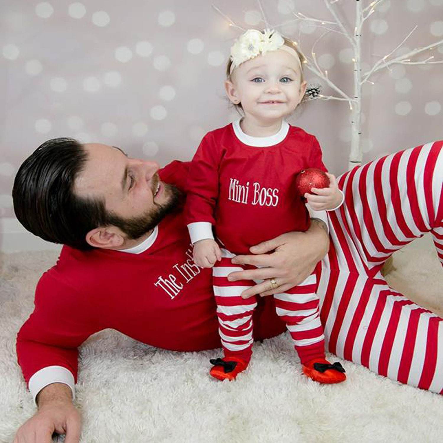 Adults & Kids Christmas & Holiday PJ's in RED Batch #4
