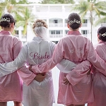 Satin Silk Robes <br>Set of 9<br>