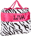 ZEBRA Napbags in Fuschia