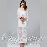 Long Ivory Lace Wedding Robe