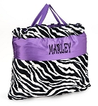 ZEBRA Napbags in Purple