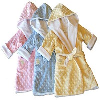 Dimple Dot Velour Robes