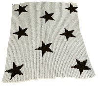 Blanket with Floating Stars