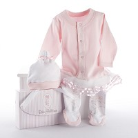 """Big Dreamzzz"" Baby Ballerina Two-Piece Layette Set"