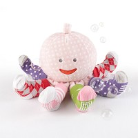Mrs. Sock T. Pus Plush Octopus with 4 Pairs of Socks