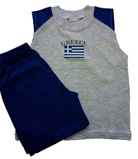 Greece Short Set